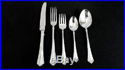 Service For 12 Oneida Juilliard Stainless Flatware Cube Mark USA Never Used