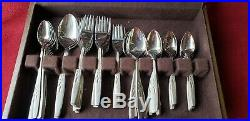 Service for 12, 114 pcs WILL O' WISP Stainless Flatware Set by ONEIDA, unused