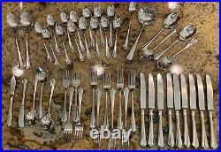 Set Of 47 Pieces Of ONEIDA 18/10 Stainless Steel JULLIARD Flatware Heirloom