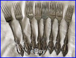 Set of 46 ONEIDA Deluxe Stainless 8 Place Settings 6 Serving Flatware RAPHAEL