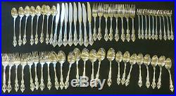 Set of 8 Oneida RAPHAEL Distinction Deluxe HH Stainless Flatware 56 Pieces