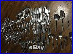 TWIN STAR 134 Pc Lot Oneida Community Stainless Serving, Steak Knifes EVERYTHING