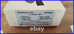 UNUSED IN BOX 44 piece ONEIDA SPANADA Rogers stainless flatware service for 8