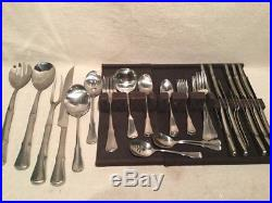 VINTAGE ONEIDA COMMUNITY STAINLESS PATRICK HENRY 44 pieces
