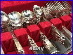 Vintage 75 Piece Community Stainless Morning Star Silverplate Flatware Serves 12