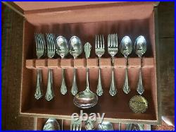 Vintage 78 Pcs ONEIDA COMMUNITY Stainless MARQUETTE Flatware service for 12