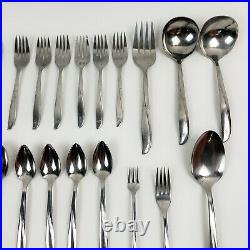 Vintage Lot of 48 Misc. Pieces ONEIDA Community TWIN STAR Stainless Flatware