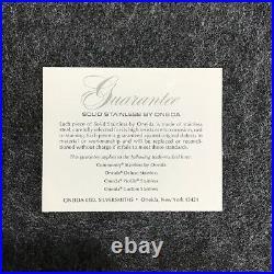 Vintage ONIEDA Paul Revere Community Stainless Satin Flatware, 24 Piece Set