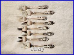 Vintage Oneida Community BRAHMS Stainless Glossy Silverware Set Flatware