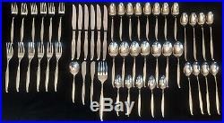 Vintage Oneida Community Driftwood Stainless Flatware Silverware Dinner Set USA