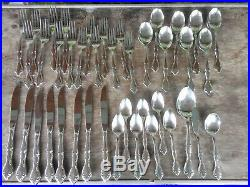 Vintage Oneida Community Stainless 41 Piece Lot Cantata Forks Spoons Knives Srvg