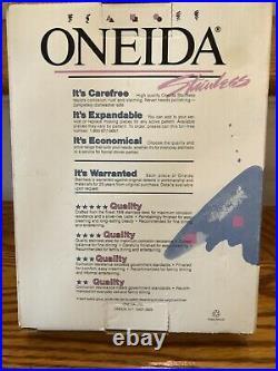 Vintage Oneida Daydream Pattern 45 Piece Stainless USA BRAND NEW