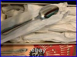 Vintage Oneida Plantation stainless steel flatware- 55 pcs