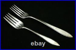 Vintage Wm A Rogers Oneida Debutante Princess Royal Service for 12- minus 1 Fork