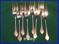 Wm A Rogers Deluxe Oneida Summer Mist Autumn Glow Stainless set of 41 pieces