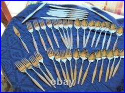 Wm Rogers Oneida Premier Stainless Windrift 41 Pieces Service For 8